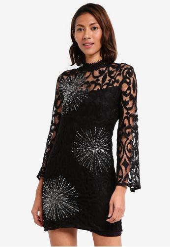 Free People black North Star Mini Dress FBAD9AAB7406EFGS_1