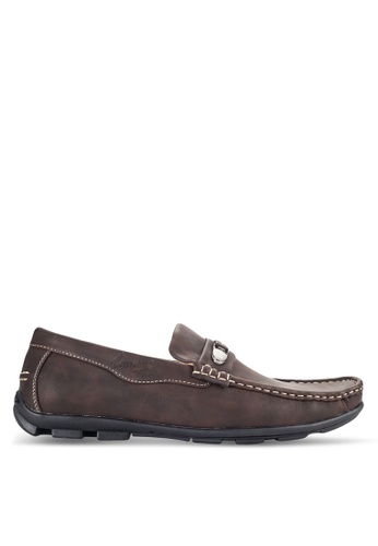 Louis Cuppers brown Casual Loafers LO977SH07VOMMY_1