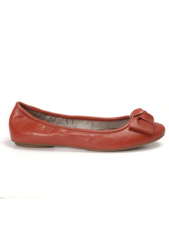 Shu Talk brown AMAZTEP NEW Comfy Sole Nappa Leather BOW Ballerina Ballet Flats 6554CSHCACF542GS_1