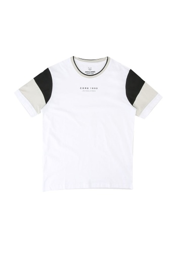 Jack & Jones white Donda Tee 3CF94KA63E8FC3GS_1