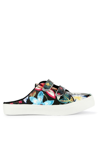Totally black and multi Sweet Slip On 2 99E63SH11493A2GS_1