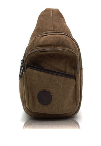 Attraxion Men's and Accessories brown Attraxion Adrian – 656 Crossbody Bag for Men 701B1ACEE2D8D4GS_1