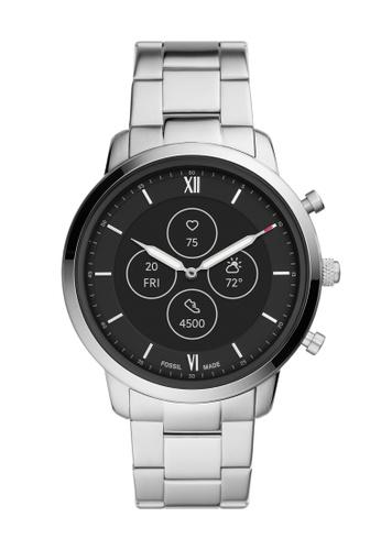 FOSSIL silver Neutra Hybrid HR Smartwatch FTW7029 BE8FEAC803DC1DGS_1