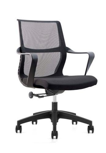 AMERCIS black Amercis Artsy B Mesh Office Chair C4A4AHL9195C85GS_1