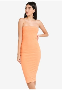 a6b1f6faa3afd5 Psst... we have already received your request. MISSGUIDED. Bandeau Midi  Dress