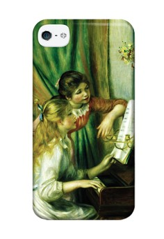 Girls at the Piano Matte Hard Case for iPhone 4,4s