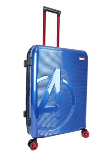 MARVEL navy Marvel Avengers VAA9956 26inch ABS+PC Expendable Hardcase Luggage With TSA Lock & Double Colour Anti-Theft Zipper 61B8BACAD7780CGS_1