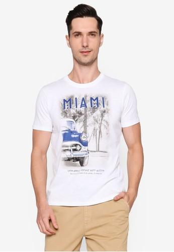 OVS white Miami T-Shirt 8508AAA196C875GS_1