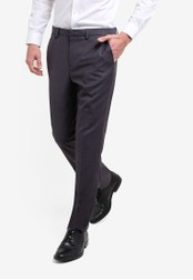 Burton Menswear London grey Slim Grey Essential Suit Trousers BU964AA92JVJMY_1