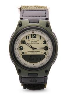 Analog Digital Watch AW-80V-3BVDF