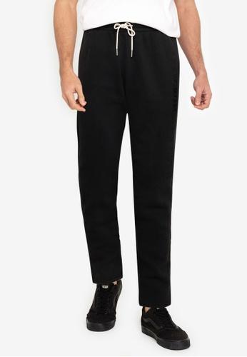 Abercrombie & Fitch black Trend Logo Classic Pants 8C987AA4500DF6GS_1