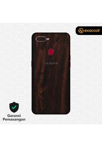 Exacoat Oppo F9 3M Skins Wood Mahogany - Cut Only C4D10ES2CF8411GS_1