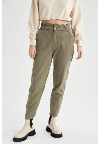 DeFacto green Woman Woven Trouser 77C57AA367EBEAGS_1