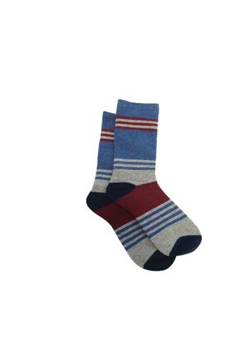 Universal Traveller blue Universal Traveller Unisex Wool Socks - SKW 9240 A4BF3AAFFD302AGS_1