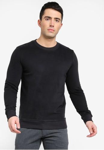 ESPRIT black Long Sleeve Sweatshirt 06EF8AA8BE0032GS_1
