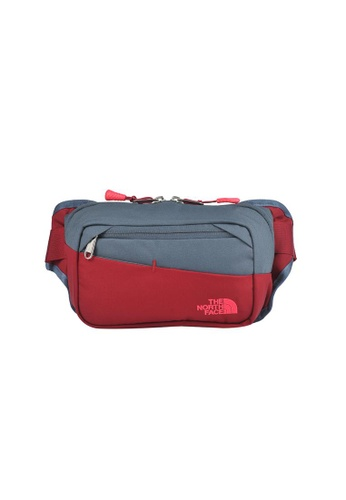 The North Face multi TNF BOZER HIP PACK II RUMBA RED/TURBULENCE GREY A8FE8ACF8BF59FGS_1