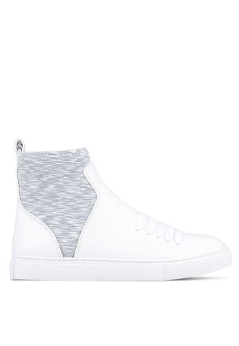 House of Avenues grey and white Casual Booties HO685SH0RRBEMY_1