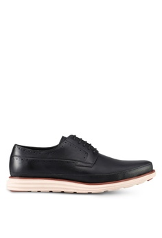 ZALORA black Lace Up Dress Shoes E3F08SH695ED02GS_1