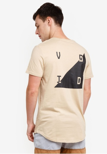Factorie 多色 Curved Graphic T Shirt 52B48AAD820955GS_1