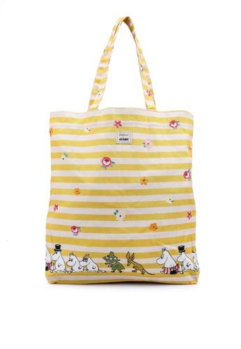 Cath Kidston beige Moomins Stripe Perfect Shopper Bag 077A1AC1AAC613GS_1