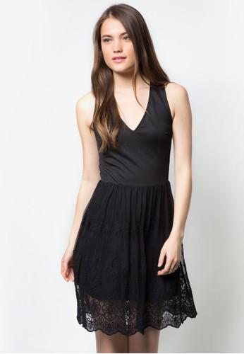 蕾zalora開箱絲擺無袖洋裝, 服飾, 洋裝