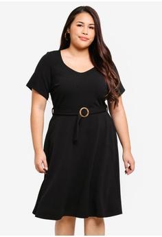 0f5970fc00 Dorothy Perkins black DP Curve Black Horn Buckle Dress 0DCE6AA51E3805GS 1