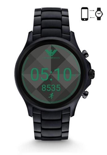 ARMANI black Armani Alberto Black Smart Watch ART5002 AR024AC0S032MY_1