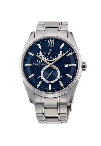Orient silver Orient Star Mechanical Contemp Sub Dial Stainless Steel Mens Watch OS-RE-HK0002L00B 3DB04AC06B7E18GS_1