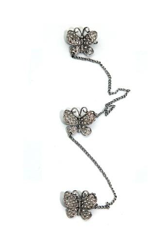 Paulini silver Butterfly P8 Brooch PA011AC48DJVMY_1
