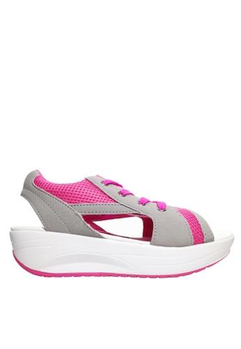 Twenty Eight Shoes Mesh Lace Up Rocking Sandals VC2717 B5952SH7BBE2DBGS_1