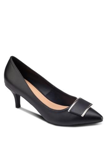 方環esprit hk尖頭高跟鞋, 女鞋, 鞋
