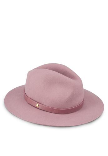 GAP pink Wool Fedora Hat 346F2AC555C0DFGS 1 b42cb0b2a6a
