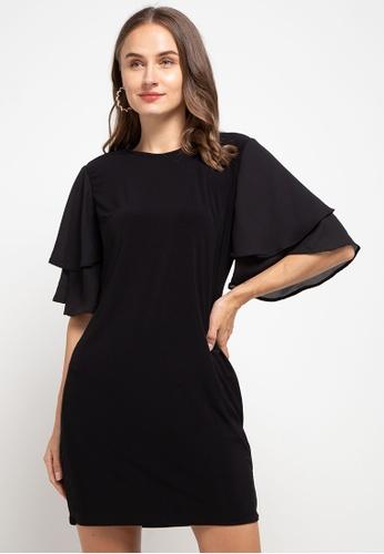 CHANIRA LA PAREZZA black Chanira La Parezza Listia Dress- Black 462C0AAE08E744GS_1