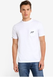 Wrung white Black Sign T-Shirt WR395AA80MPVMY_1