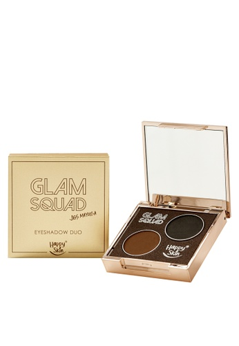 Happy Skin brown Glam Squad Eyeshadow Duo by Jigs Mayuga HA428BE77ADIPH_1