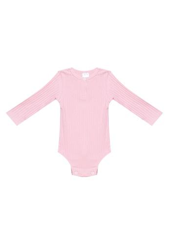 RAISING LITTLE pink Paige Onesies D0747KADD6708AGS_1