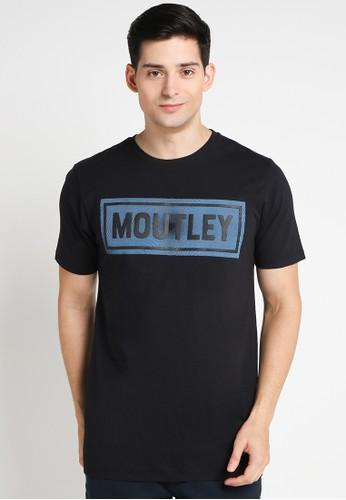 MOUTLEY black Men Tshirt MO264AA0WFD2ID_1