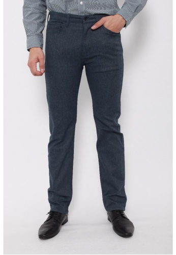 Dockers grey Dockers Standard Jean Cut Straight Pants Burma Grey DO282AA0FW0FSG_1