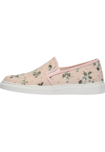 paperplanes SNRD-138 Flower Pattern Tall-Up Casual Slip-Ons Shoes US Women Size PA110SH35ZRKHK_1