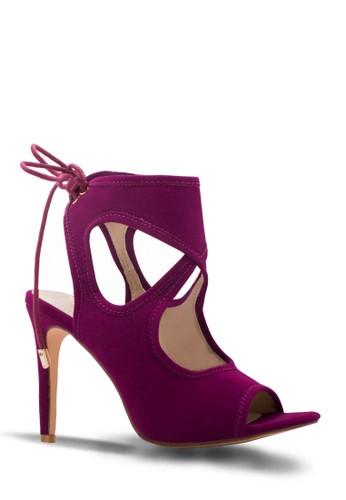 Sepatu Wanita High Heels Burgundy