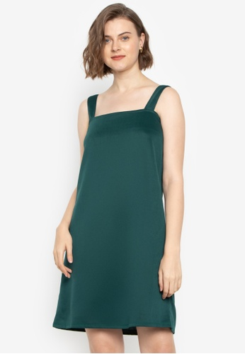 M and M green Aurora Halter Dress 70DFAAA48EEEEFGS_1