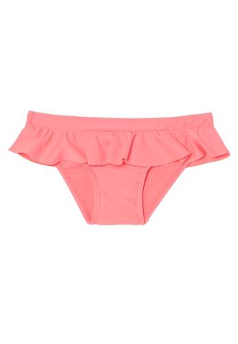 OVS pink Stretch Swim Briefs With Frills F278EKA9233AC1GS_1