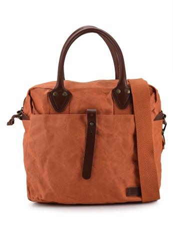 SUPERDRY orange Military Laptop Bag - Original & Vintage 4A66CACE96D1C2GS_1