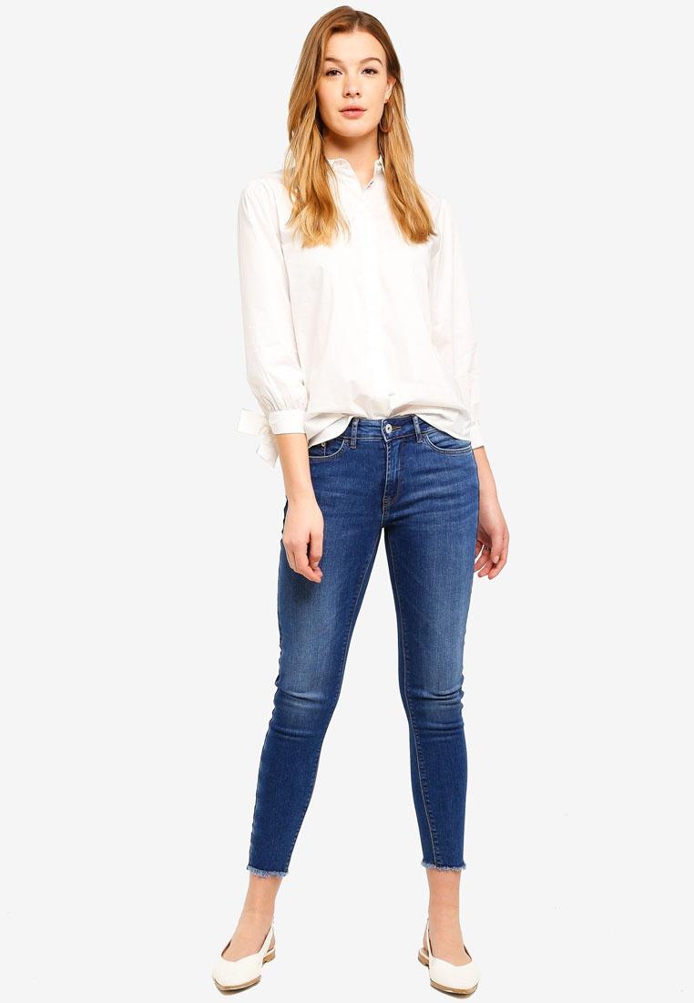 ESPRIT Blouse Sleeve Long White Woven p6pzqxOw