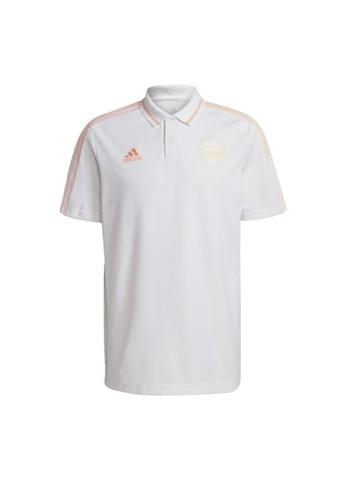 ADIDAS white adidas Arsenal Polo Shirt 5D312AA0948515GS_1