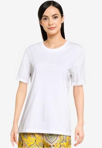 Desigual white Mandala Crochet T-shirt 139BCAAA11E1CFGS_1