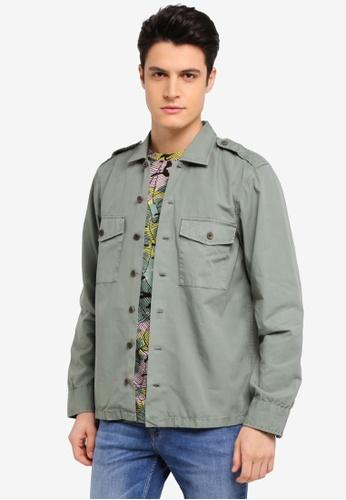 BOSS 綠色 Cienfuegos Jacket - Boss Casual E5739AA4EC7AA0GS_1