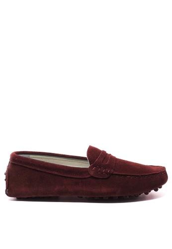 Twenty Eight Shoes 女裝真猄皮豆豆鞋M88 DA3D9SH8C4415BGS_1