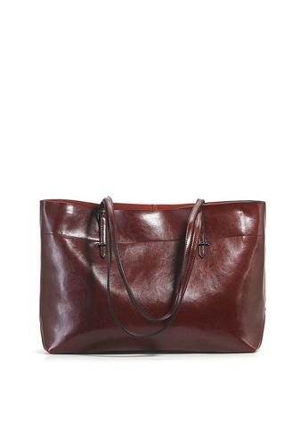 Twenty Eight Shoes brown VANSA Cow Leather Hand Bag VBW-Tb8825A 5C0CAAC5237A37GS_1