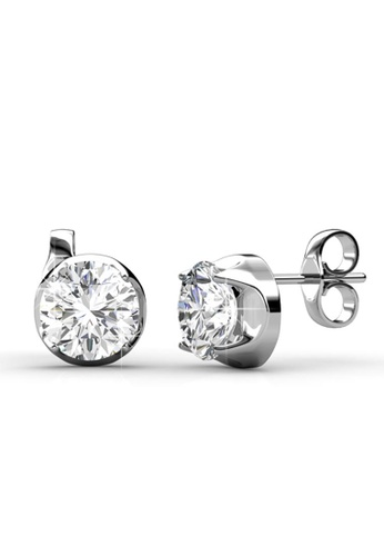 Her Jewellery silver Her Jewellery Dazzling Earrings with 18K Gold Plated 8E8C1ACADC4FF0GS_1